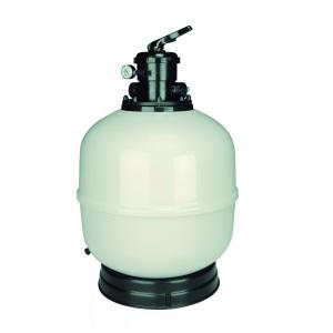 Фильтр ламинированный AstralPool Aster с верхним вентилем, 750 мм, 21 м3/ч, соединение 1 1/2′, трубчатый коллектор, высота засыпки 0,6 м арт. 33847