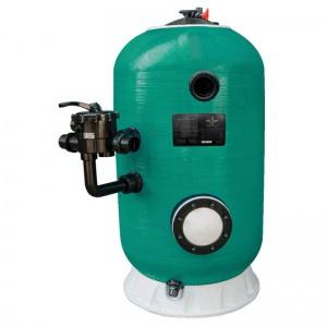 Фильтр шпульной навивки Д.1200 мм, 34 м³/ч, высота загрузки 1 м, боковое подключение 2′, доп.опц Pool King /HK151200Aтд/ без вентиля арт. HK151200Aтд