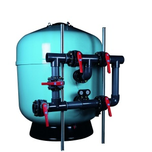 Фильтр ламинированный Д=1400 мм, 77 м³/час, боковое подключение 4′, Europe /21499/ арт. 21499