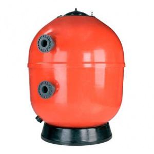 Фильтр ламинированный AstralPool Vesubio без вентиля с боковым подключением, 1200 мм, 22–33 м3/ч, соединение 75 мм, трубчатый коллектор, высота засыпки 1 м арт. 41307