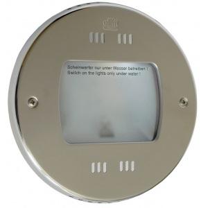 Галогеновый прожектор Hugo Lahme 200 Вт, 30 В круглая рамка Ø270 мм из нержавеющей стали, кабель 2,5 м, 4000 люмен арт. 4170020