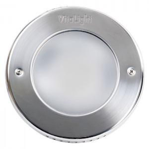 Галогеновый прожектор Hugo Lahme 2х50 Вт, круглая рамка Ø270 мм из нержавеющей стали, кабель 2,5 м, 1516 люмен арт. 4140220