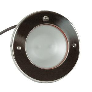 Галогеновый прожектор Hugo Lahme 2х65 Вт, круглая рамка Ø270 мм из нержавеющей стали, кабель 2,5 м, 2140 люмен арт. 4141220