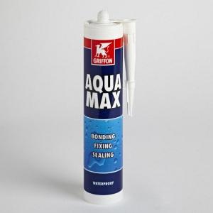 Герметик для бассейна универсальный Griffon Aqua Max, 425 г, белый арт. 6308214