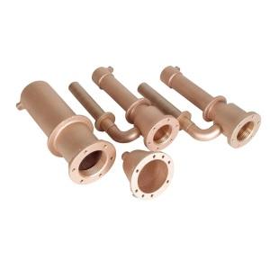 Гидромассажная установка тип Standart 6, комплект закладных, 6 стеновых дюз, 2 всасывающий элемент Hugo Lahme арт. 8696250