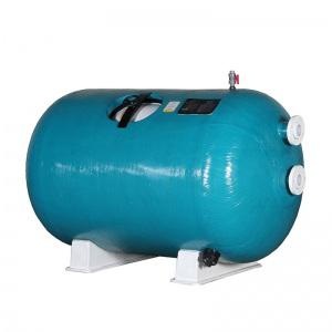 Горизонтальный фильтр шпульной навивки Д.1600 мм, длина 1900 мм, 49 м³/час, подключение 4′, высота загрузки 1 м Pool King /HL161900/ арт. HL161900