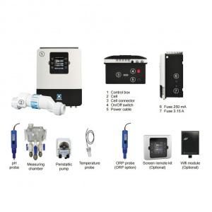 Хлоринатор солёной воды (электролизёр) Hayward Aquarite Plus T3E + Ph на 10 г/час + станция контроля качества воды и управления оборудованием