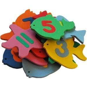 Игрушки-прилипалы Absolut Systems Рыбки-цифры (набор) арт. 010-0278