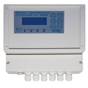 Ионизатор Acon SilverPRO 10.1 для общественных бассейнов до 80 м³