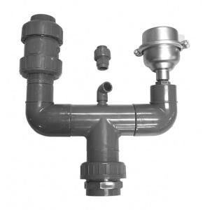 Измеритель потока воды Dinotec (реле протока) из PVC DN 50