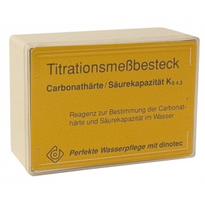 Измерительный набор для определения и надежного контроля за содержанием карбонатной жесткости / Dinotec арт. 1420-007-00