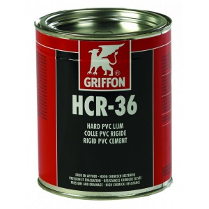 Клей ПВХ/ХПВХ Griffon HCR-36 1000 мл / 6114091 арт. 6114091