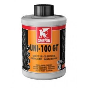 Клей для ПВХ Griffon UNI-100 GT с замедл. схватыванием 0.5 л (6111140) арт. 6111140
