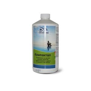 Компактал жидкое средство на основе кислоты для чистки поверхностей 1 л Chemoform /1001001 арт. 1001001