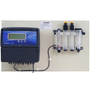 Контроллер AstralPool для контроля pH/ORP/свободного хлора/температуры (амперометрический контроль) арт. 66169