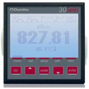 Контроллер Chemitec 3037, рН/Redox + температура, 144 x 144 мм арт. 970094105DA