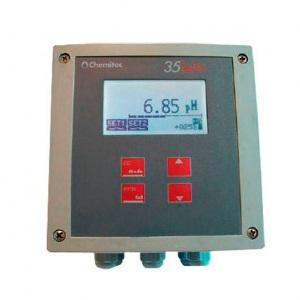 Контроллер Chemitec 3522, проводимость + температура, кондуктивный метод, панельный монтаж, 96 x 96 мм арт. 9700611050