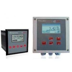 Контроллер Chemitec 4238, pH или Redox + температура, 6 выходов, Modbus-протокол, таймер (панельный монтаж), 144 x 144 мм арт. 9710612000A