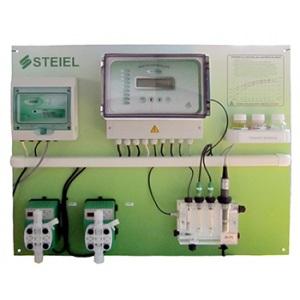 Контроллер рН, свободного хлора, редокс-потенциала, температуры Steiel PNL EF207 pH/Rx/T/CL арт. M36171458 / M36141400