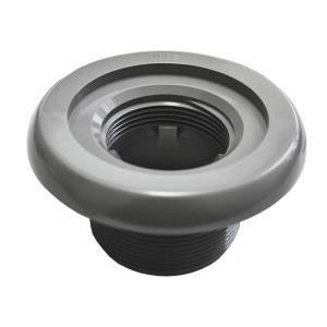 Корпус форсунки MTS Produkte, наружная резьба 2′, длина резьбы 40 мм, внутреннее подключение 50 мм, цвет серый