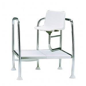 Кресло спасателя AstralPool H-400 для быстрого спуска, диаметр 43 мм, AISI-304 арт. 15673