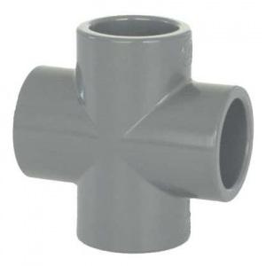 Крестовина ПВХ 1,6 МПа d_63 мм Coraplax /7109063/ арт. 7109063