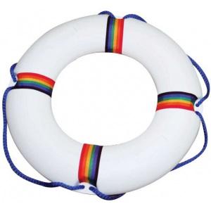 Круг спасательный ПТК-спорт детский с леером, белый арт. 034-0917