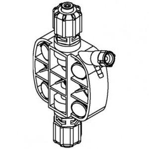 Дозирующая головка EFK1-SGV для насоса-дозатора Steiel EF150 (2 л/ч)