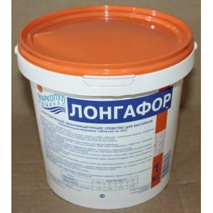 Лонгафор Маркопул медленный органический хлор (табл. 20г) ведро 1кг