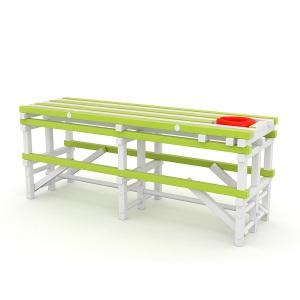 Массажный стол ПТК Спорт (жесткий ПВХ)