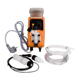 Мембранный дозирующий насос Emec универсальный 15 бар 1 л/ч с ручной рег. (VACO1501) арт. VACO1501
