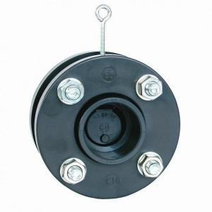 Мембранный обратный клапан Coraplax d_63 мм с фланцами