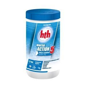 Многофункциональные таблетки MINITAB ACTION 5 HTH, 20 гр. 1,2 кг