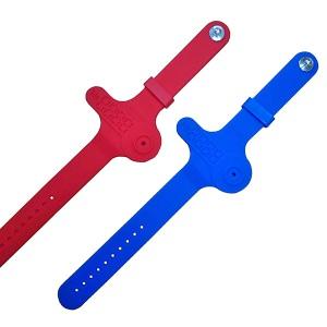 Многоразовые браслеты для хранения ключей ПТК-Спорт Intensive (цвет: красный) арт. 024-0166