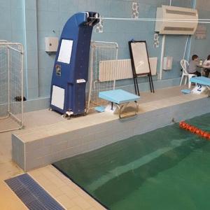 Мобильный гидродинамический стенд ПТК-Спорт для обеспечения непрерывной протяжки пловцов арт. 051-3735