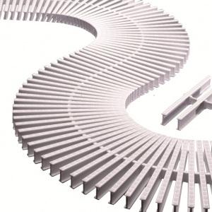 Модуль решетки для изгибов H=35 мм.