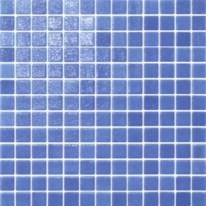 Мозаика матовая Idrania, 25 х 25 мм (цвет: синий туман), нескользящая арт. 54278