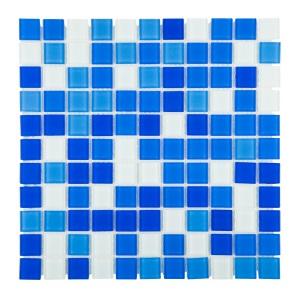 Мозаика стеклянная Aquaviva Cristall Bagama светлая