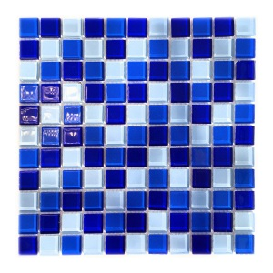 Мозаика стеклянная Aquaviva Cristall Bagama тёмная
