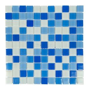 Мозаика стеклянная Aquaviva Cristall Bahama светлая SJH2564 арт. SJH2564