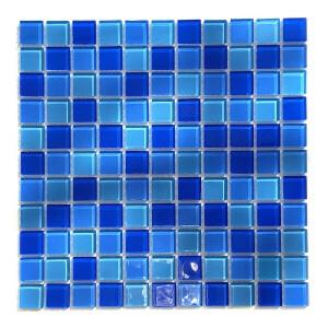Мозаика стеклянная Aquaviva Cristall Jamaika светлая DCM230 арт. DCM230