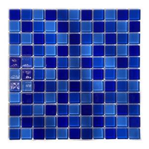 Мозаика стеклянная Aquaviva Cristall Jamaika тёмная DCM279 арт. DCM279