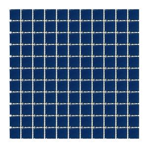 Мозаика стеклянная Aquaviva Cristall «Кобальт» LM60