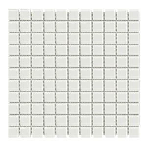 Мозаика стеклянная Aquaviva Cristall белая LM-NW арт. LM-NW