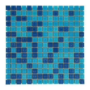 Мозаика стеклянная Aquaviva Jamaika тёмная C63N арт. C63N