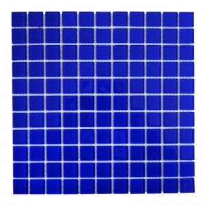 Мозаика стеклянная Aquaviva Сristall «Кобальт» DCM307