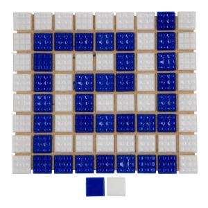 Мозаика стеклянная Aquaviva морская волна B54N(2) арт. B54N(2)