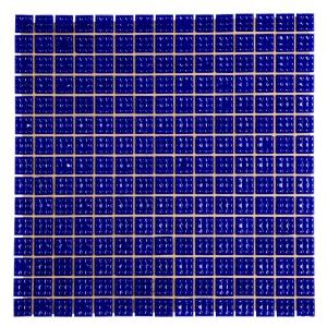 Мозаика стеклянная Aquaviva однотонная тёмная