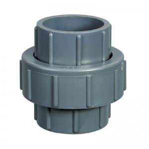 Муфта разъемная ПВХ 1,0 МПа d_40 мм Pool King /UU001040/ арт. UU001040