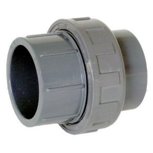 Муфта разъёмная ПВХ с НР 1,6 МПа 50х1 1/2′ Coraplax /7404050/ арт. 7404050